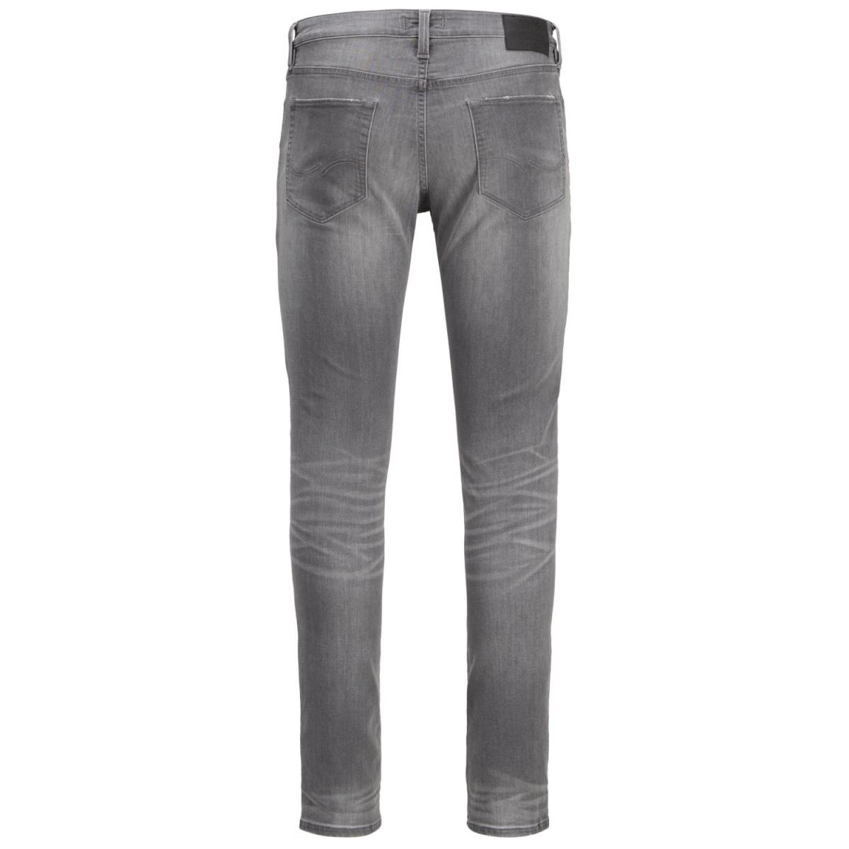 jjiglenn jjicon cr 063 indigo knit 12136316 jack & jones jeans grey denim