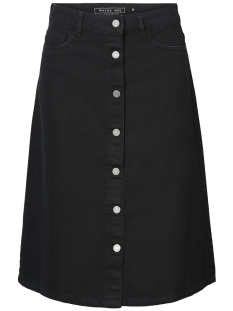 Noisy may Rok MSUNNY LONG DENIM SKIRT BLACK 3 27002922 Black