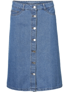 Noisy may Rok NMSUNNY LONG BLUE DENIM SKIRT 3 27002796 Medium Blue Denim