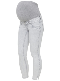 Mama-Licious Positie broek MLDETROIT 7/8 STONE WASH SLIM JEANS 20008553 Light Grey Denim