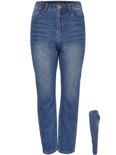 Jacqueline de Yong Jeans JDYDANNY HW TAPERED MD TAPE JEANS D 15159332 Medium Blue Denim