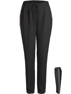 Pieces Broek PCROXIE MW PANTS D2D 17094087 Black/LEO