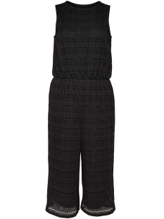 Only Jumpsuit onlBENITA S/L LACE CULOTTE JUMPSUIT 15156302 Black