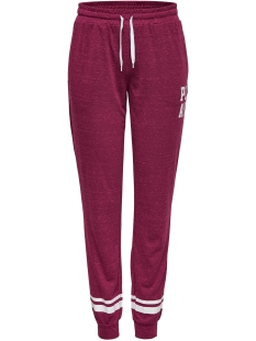 Only Play Sport broek onpHALLE REGULAR SWEAT PANTS 15149105 Rhododendron/MELANGE W.