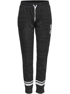 Only Play Sport broek onpHALLE REGULAR SWEAT PANTS  15149105 Black/MELANGE