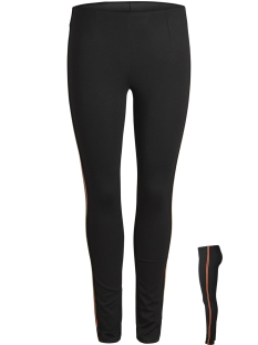 Pieces Legging PCCAMILLE LEGGING BOX D2D 17093947 Black/Gold-Red