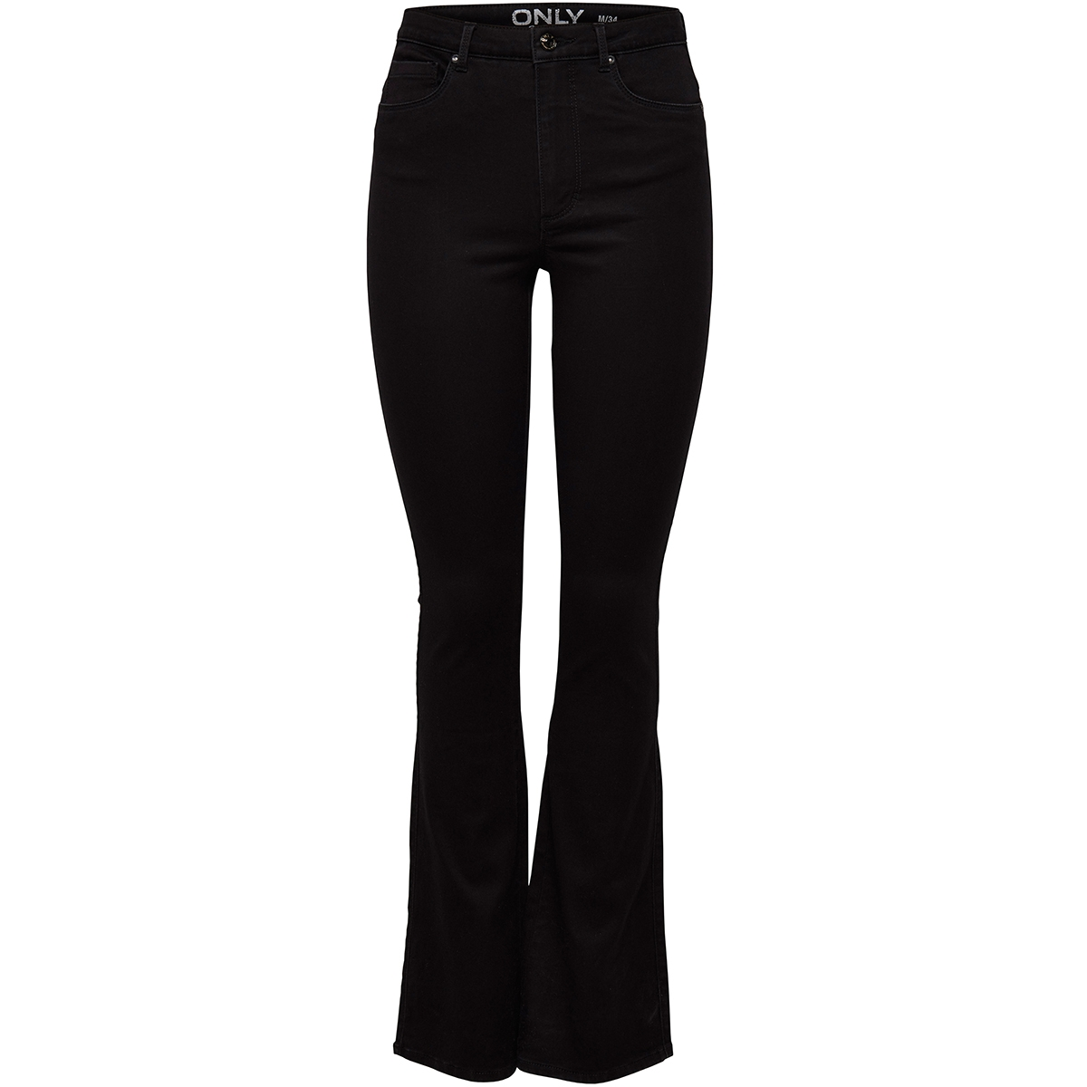 onlroyal high  sweet flared 600  15163338 only jeans black