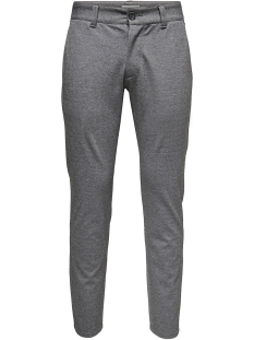 Only & Sons Broek onsMARK PANT GW 0209 NOOS 22010209 Medium Grey Melange