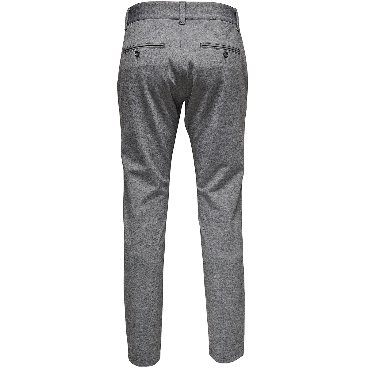 onsmark pant gw 0209 noos 22010209 only & sons broek medium grey melange