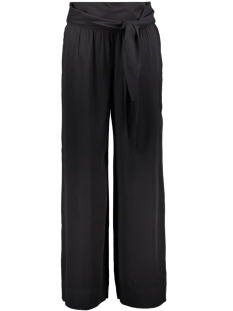 Only Broek onlDAISY PALAZZO TIE PANT SOLID WVN 15158709 Black