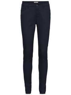 Vero Moda Broek VMSEVEN MR SLIM COLOR PUSH UP PANT 10199266 Night Sky