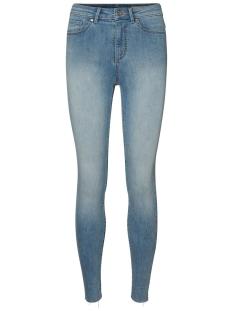 Vero Moda Jeans VMSOPHIA HR SKINNY DESTROYED JEANS 10199082 Light Blue Denim
