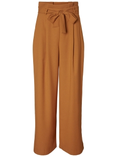Vero Moda Broek VMKIM H/W WIDE LONG PANT D2-5 10200749 Thai Curry
