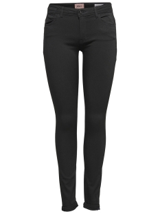 Only Broek onlCARMEN REG SK BLACK4EVER SOO1796 15159404 Black Denim