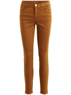 Vila Broek VIAMY RW 7/8 5P ZIPPER PANT 14048171 Cathay Spice