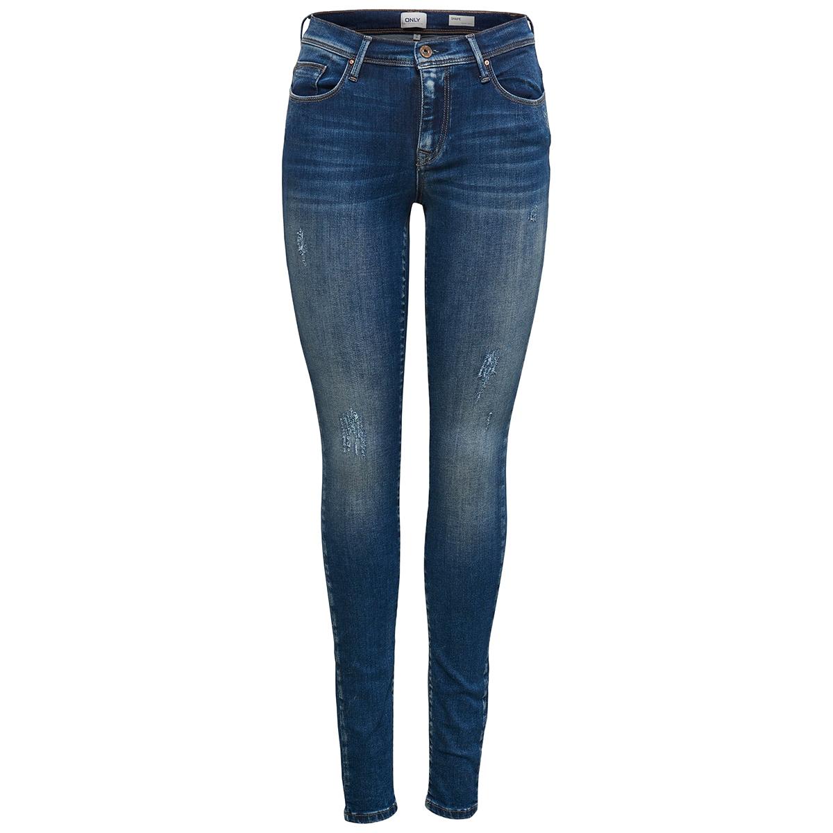 onlshape reg sk dnm jeans rea4488 noos 15159137 only jeans dark blue denim