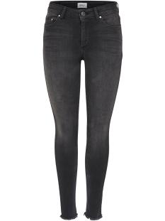 Only Jeans onlBLUSH MID ANK RAW JEANS REA1099 15157997 Black Denim
