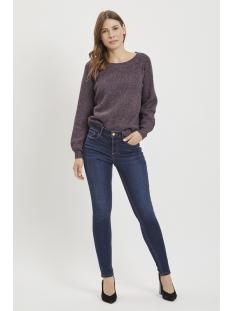 vicommit felicia rw slim dbd-noos 14046288 vila jeans dark blue denim