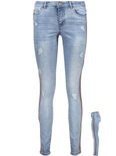 Only Jeans onlCARMEN SK REG SPORT STRIPE DNM J 15166008 Light Blue Denim