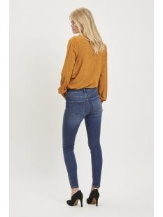 vicommit felicia rw slim dbd wash-noos 14046287 vila jeans dark blue denim