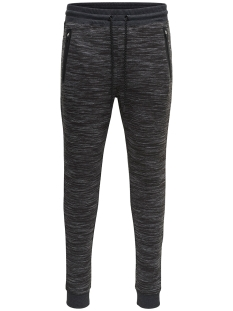 Only & Sons Broek onsVINN 2.0 SWEATPANT NOOS 22011066 Dark Grey Melange