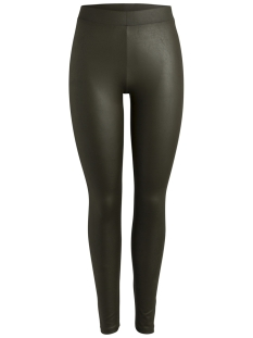 Pieces Legging PCLAUREN SHINY COLORFUL LEGGINGS NO 17090850 Dark Olive