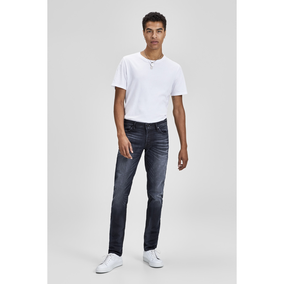 jjiglenn jjoriginal jos 745 i.k noos 12140584 jack & jones jeans blue denim