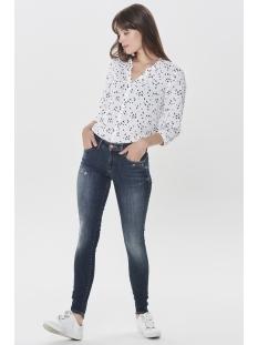 onlalba reg sk dnm jeans bl206 noos 15159375 only jeans dark blue denim