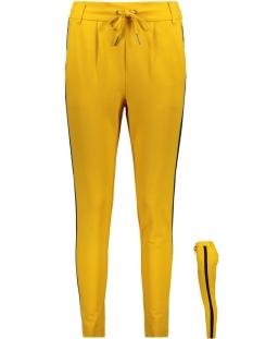 Only Broek onlPOPTRASH EASY PANEL PANT PNT 15154183 Golden Yellow/Black Pane