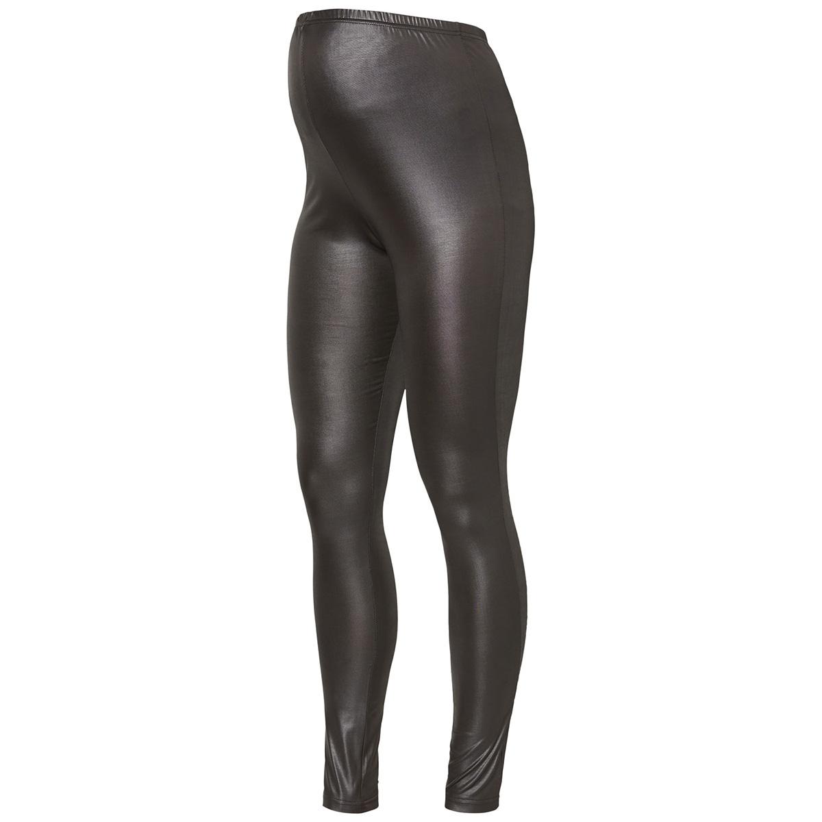 mlnewtessa jersey hw leggings noos 20009158 mama-licious positie broek black