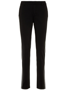 Vero Moda Broek VMLEAH MR CLASSIC PIPING PANT COLOR 10204354 Black