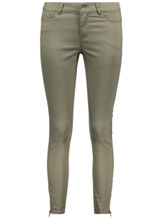 Vero Moda Broek VMHOT SEVEN MR ANKLE ZIP COLOR PANT 10202589 Ivy Green