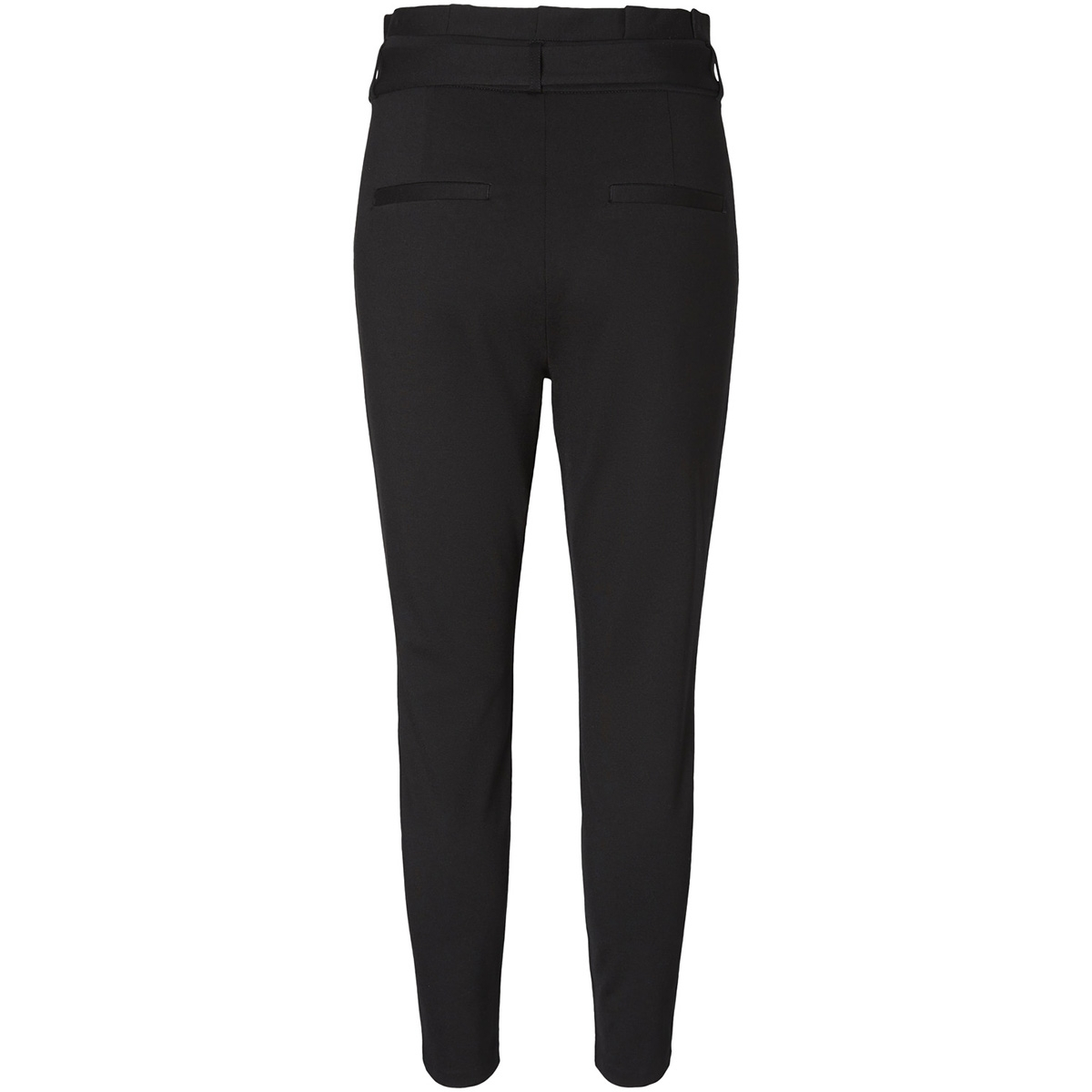 vmeva hr loose paperbag pant noos k 10205932 vero moda broek black