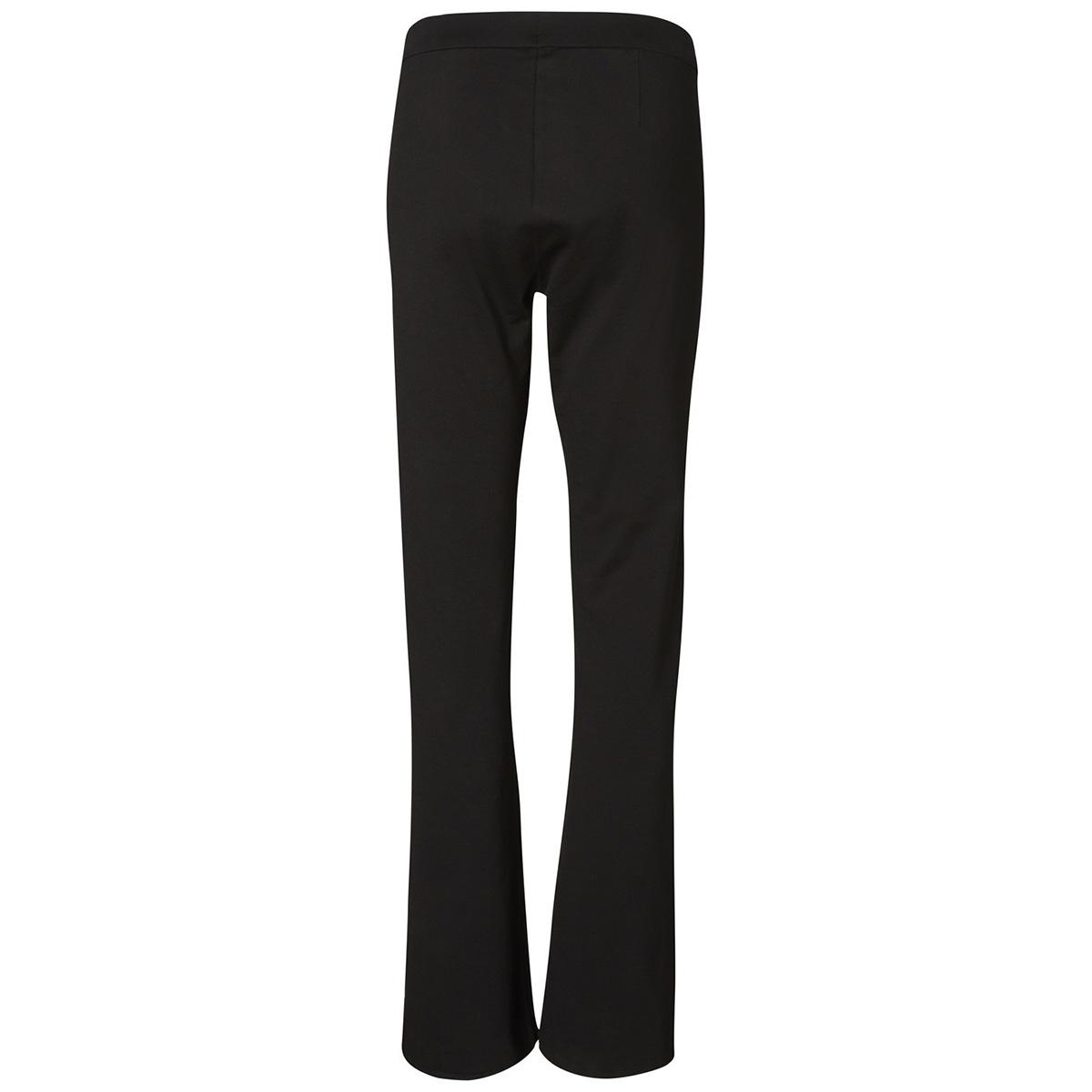 vmkamma nw flared jersey pant noos 10209858 vero moda broek black