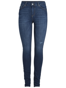 Pieces Jeans PCFIVE DELLY B180 MW SKN JNS DB/NOOS 17087085 Dark Blue Denim