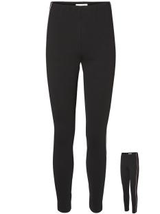 Vero Moda Legging VMESSIE  TRACK PANT GA 10204233 Black/WINETASTING
