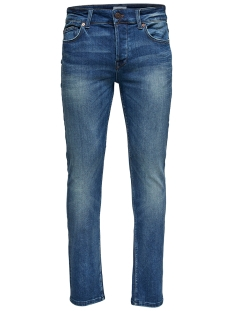onsloom blue washed ld pk 1281noos 22011281 only & sons jeans blue denim