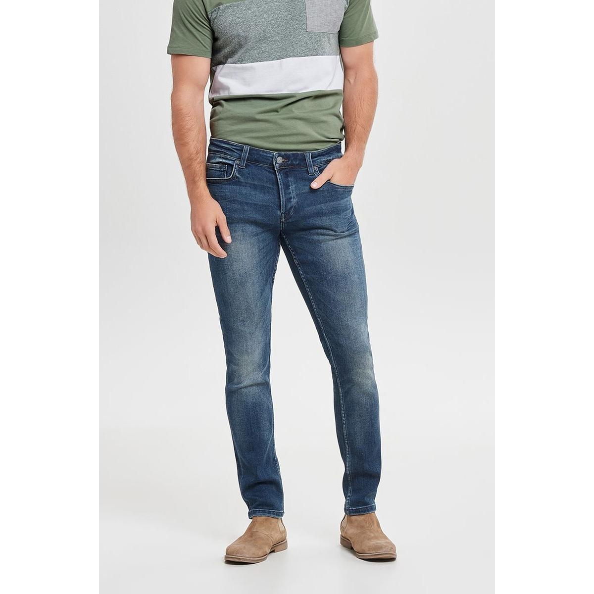 onsloom blue washed ld pk 1281noos 22011281 only & sons jeans blue denim