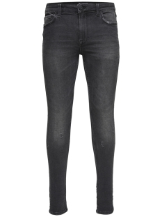 onswarp black washed ld pk 0899 noos 22010899 only & sons jeans black denim
