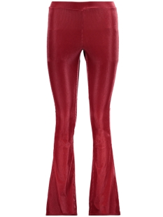 Vila Legging VIPENOPO FLARED RIB LEGGING 14050561 Earth Red