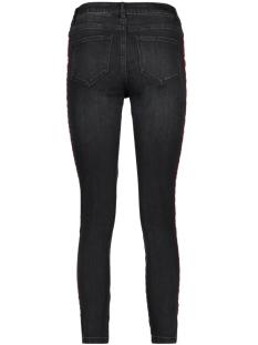 vmseven mr slim text ankle jeans 10205504 vero moda jeans black