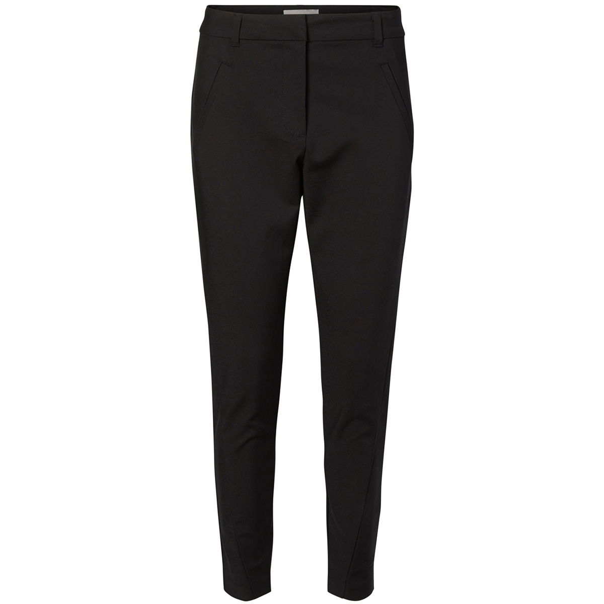 vmvictoria nw antifit ankle pants 10180484 vero moda broek black