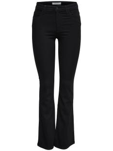 Jacqueline de Yong Jeans JDYELLA FLARED HW BLACK DNM 15161194 Black
