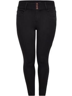 Only Carmakoma Jeans carANNA HW SK ANK JEANS BLACK 15164131 Black