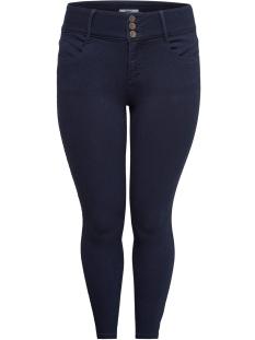 Carmakoma Jeans carANNA HW SK ANK JEANS DARK BLUE D 15167682 Dark Blue Denim