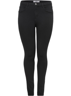 Only Carmakoma Jeans carSTORM PUSH UP HW SKINNY JEANS CR 15164166 Black