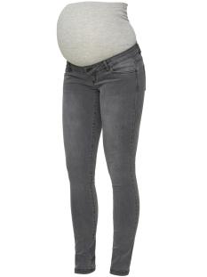 mllola slim grey jeans a. noos 20009202 mama-licious positie broek grey denim