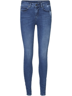 Noisy may Jeans NMLUCY NW SKINNY PRIM JEANS BA019MB 27005265 Medium Blue Denim