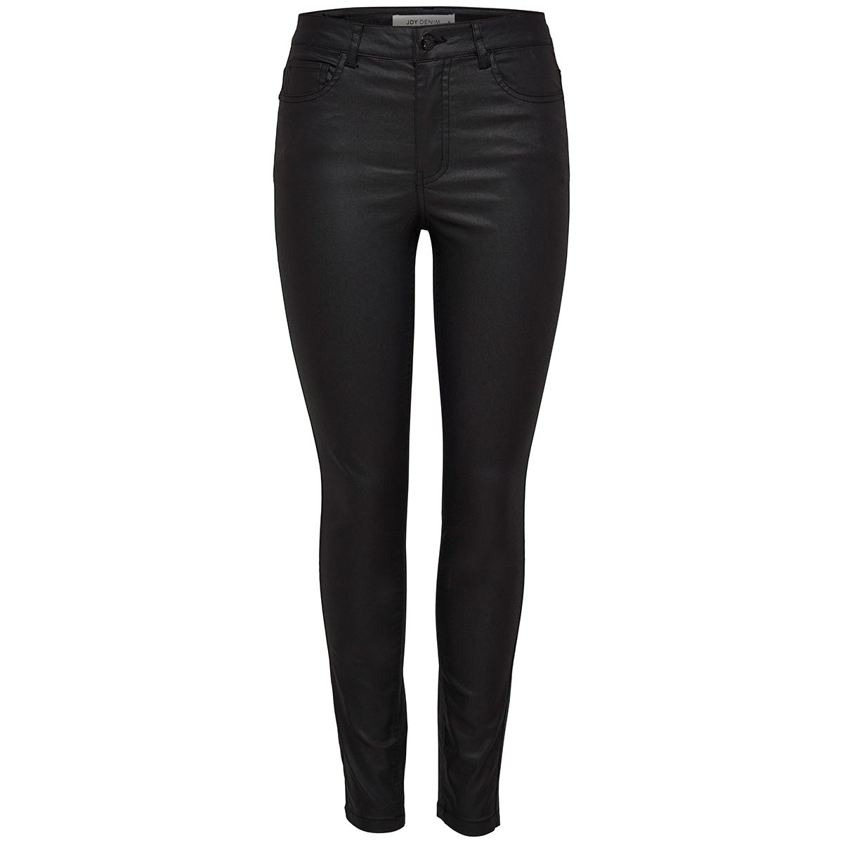 jdyelyn skinny rw coated pnt noos 15159274 jacqueline de yong broek black