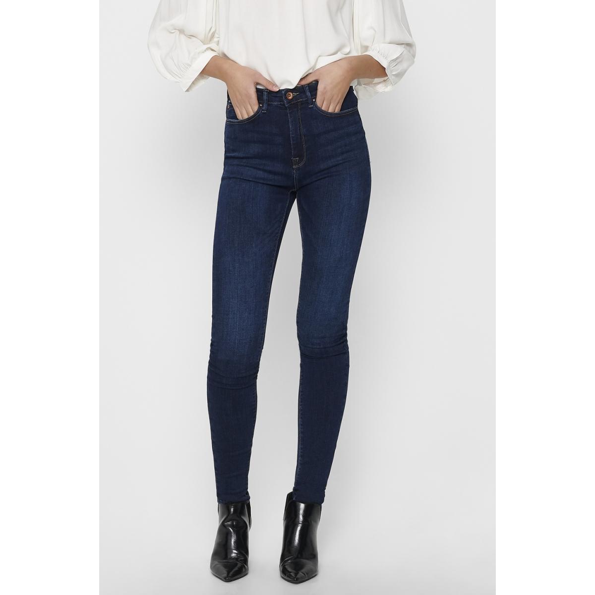 onlpaola hw sk dnm jeans azgz878 noos 15165780 only jeans dark blue denim